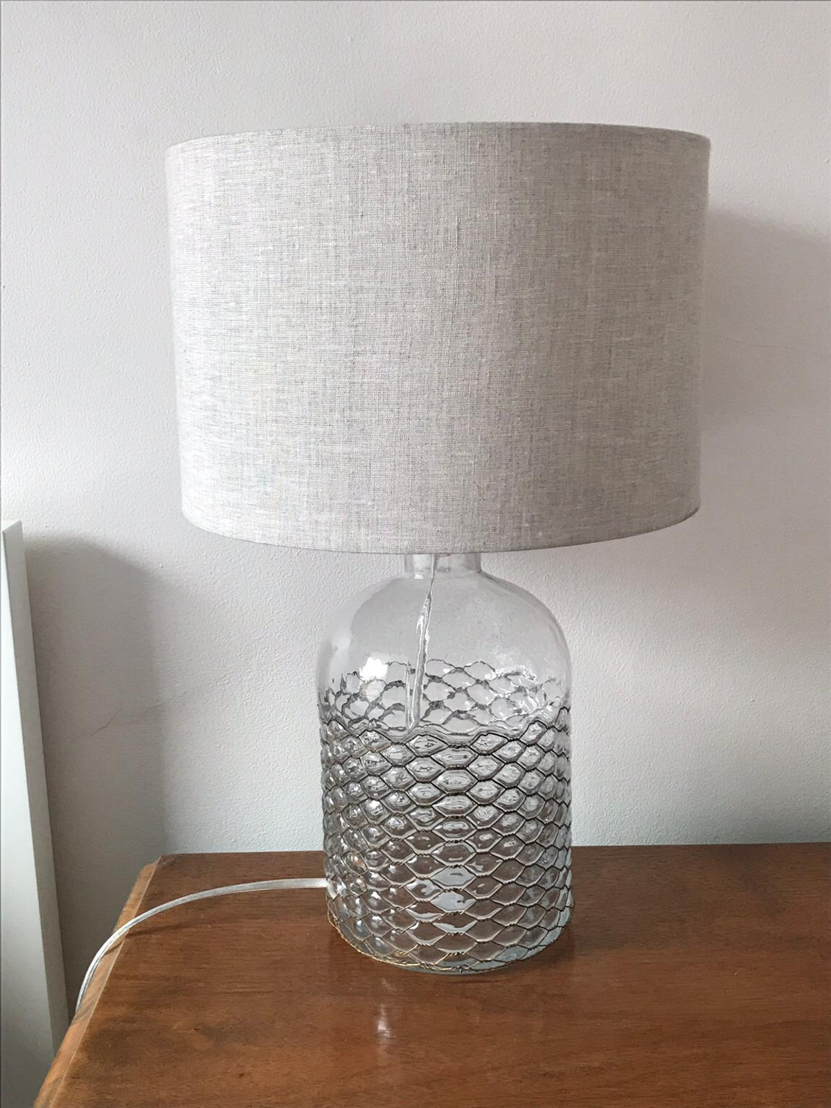 Glass Lamp John Lewis John Lewis Croft Glass And Wire Table Lamp