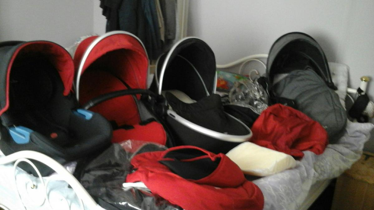Newborn Car Seat Set Up Sliver Cross Fareway Set In Dn20 Brigg For 200 00 For Sale
