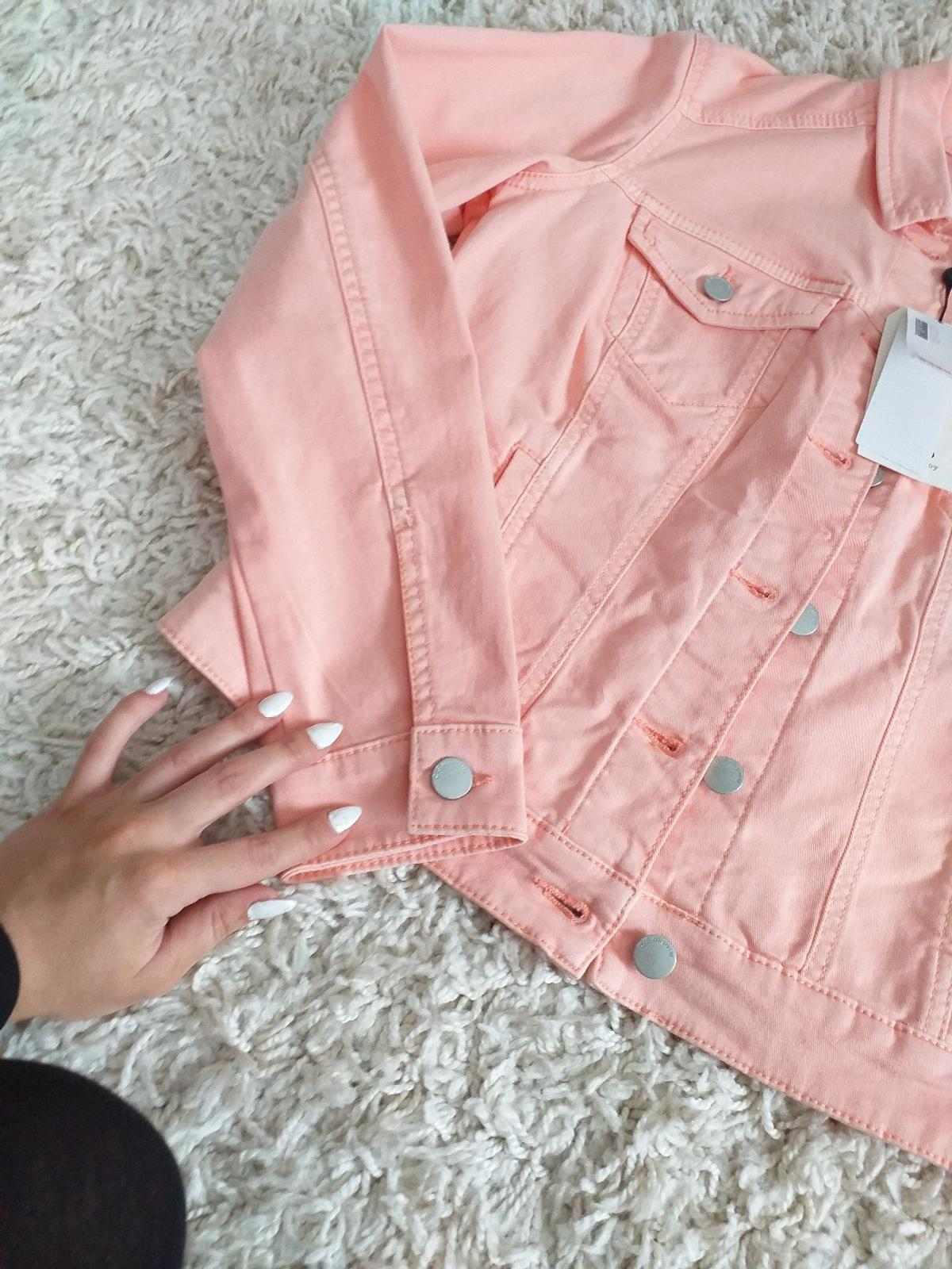 Apricot Farbe Jeansjacke In 96215 Lichtenfels For €40.00 For Sale | Shpock