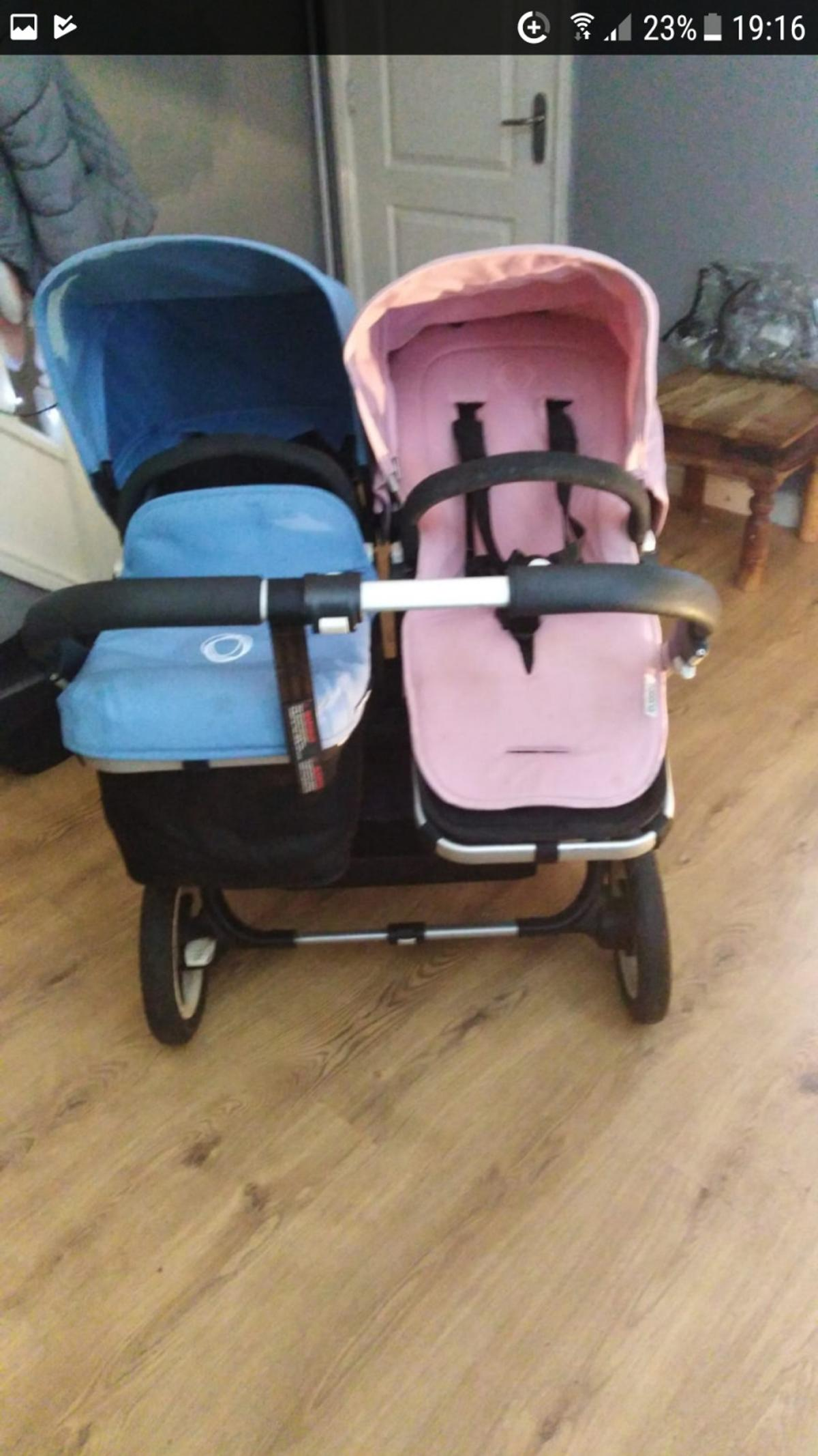Double Pushchair Bugaboo Bugaboo Donkey Duo Pink And Blue In M30 Salford For 600 00