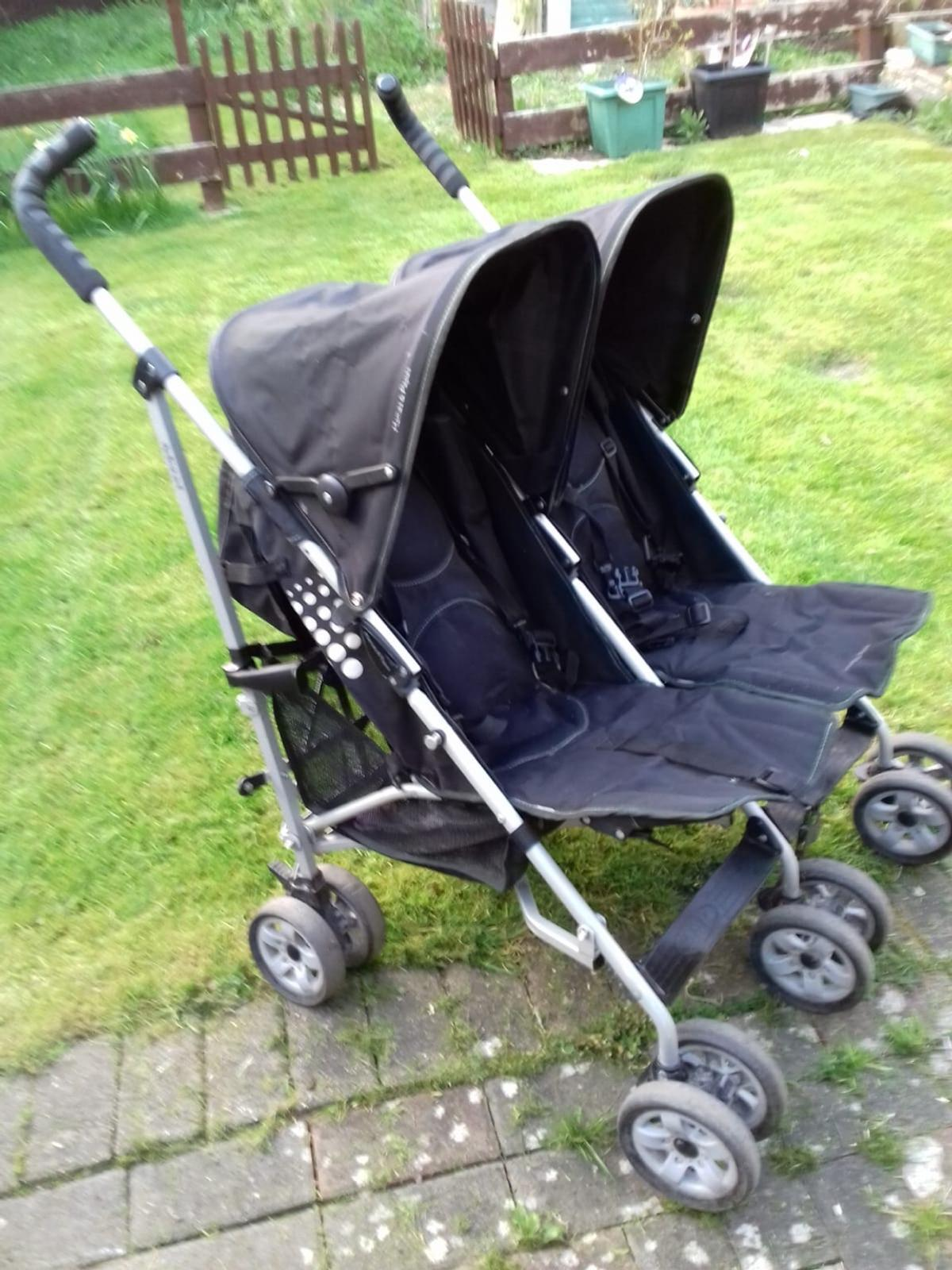 Double Buggy In Sale Mamas Papas Double Buggy