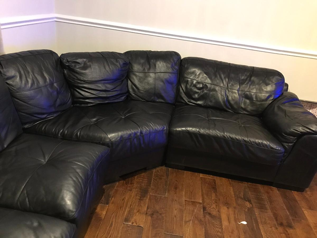 Wood Chair Second Large Black Leather Corner Sofa