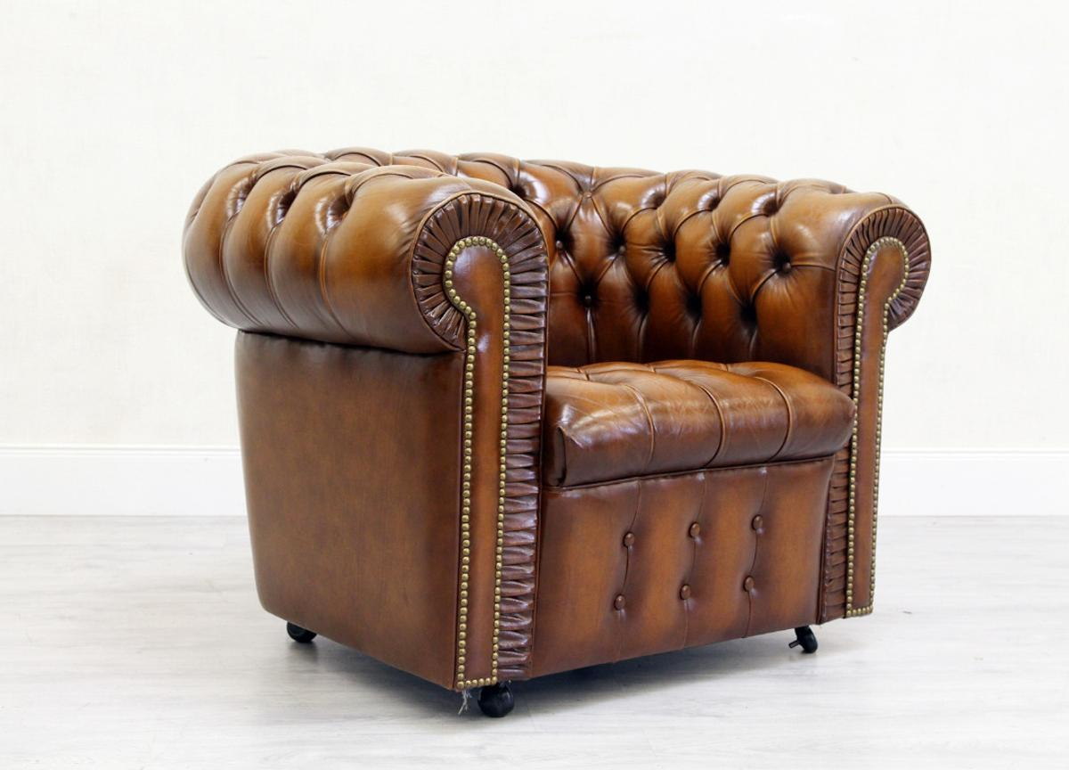 Chesterfield Sessel Leder Antik Ohrensessel In 32791 Lage