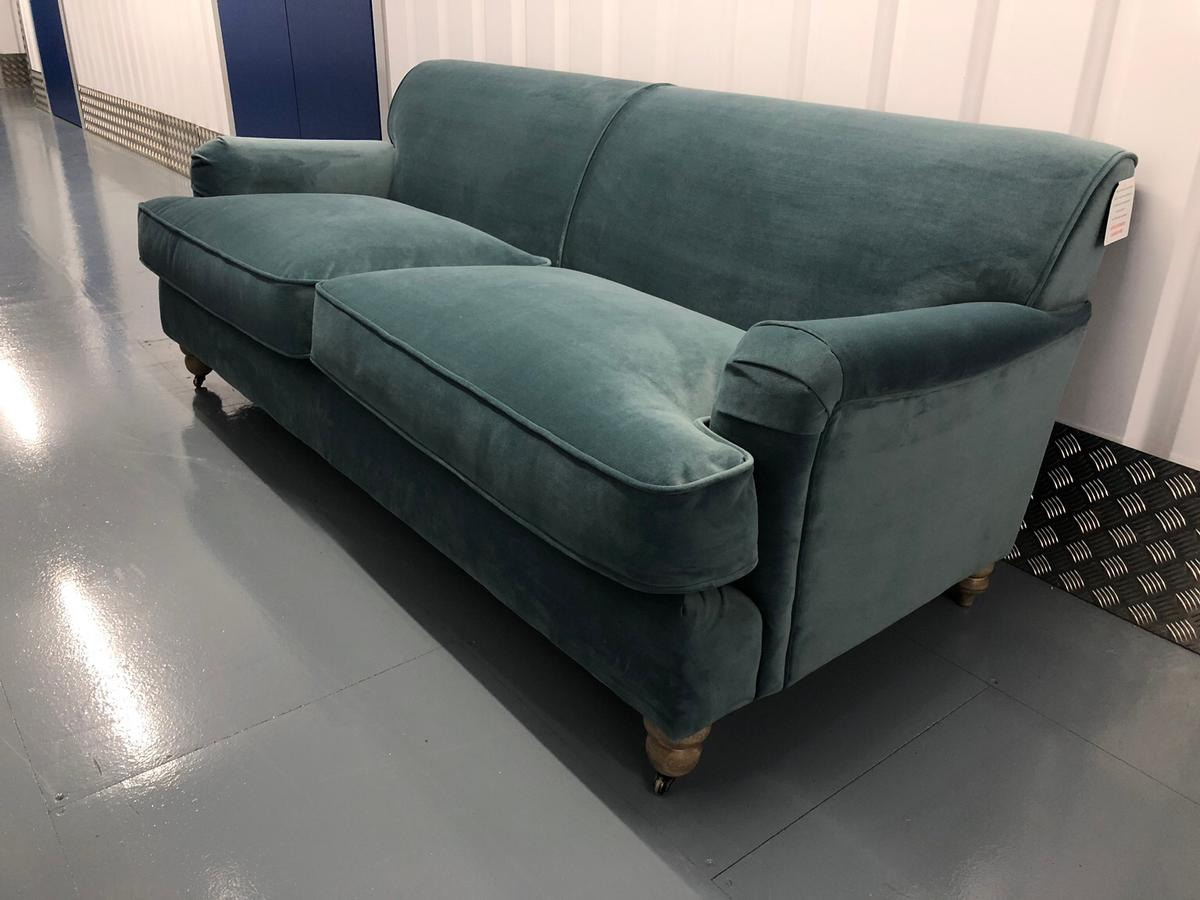 Made Sofa Velvet New Made Orson 3 Seat Sofa Velvet In Sw13 London Für