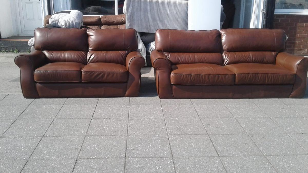 Sofa Sale Harveys Harveys Real Leather Sofa Set Stunning 3 2