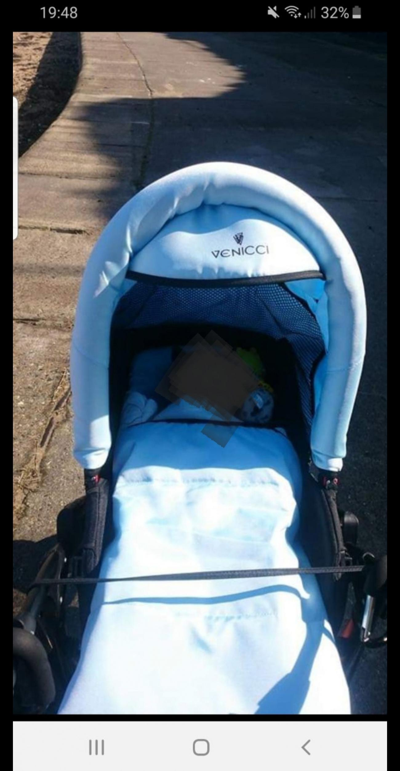 Newborn In Pram Seat Venicci Pram In Ct9 Thanet For 180 00 For Sale Shpock