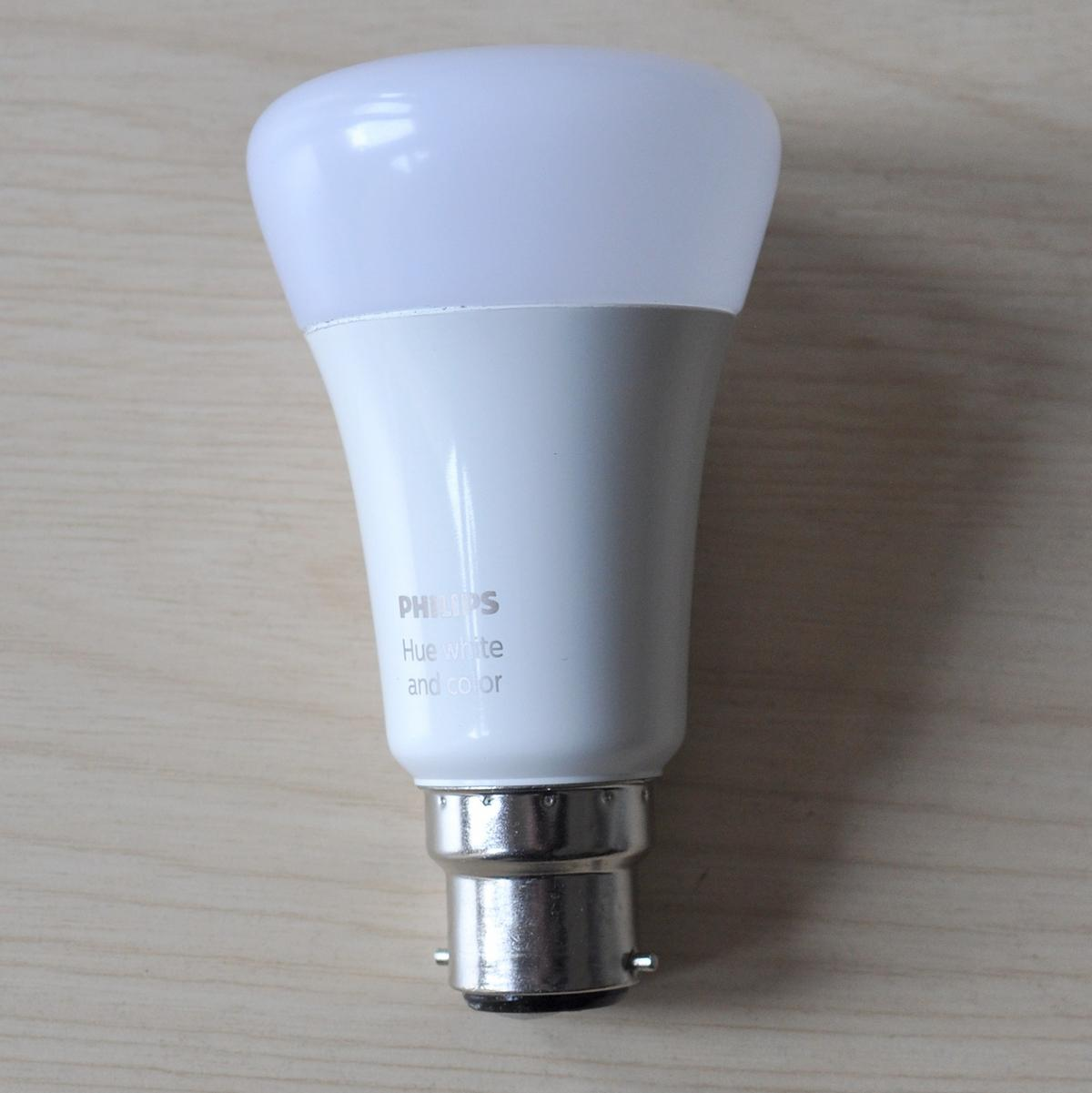 Hue Fitting Philips Hue Richer Colours B22 Bulb