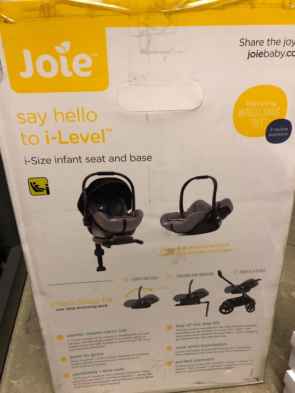 Joie Baby Head Office Joie I Level Car Seat N Base In Wf12 Kirklees For 105 00