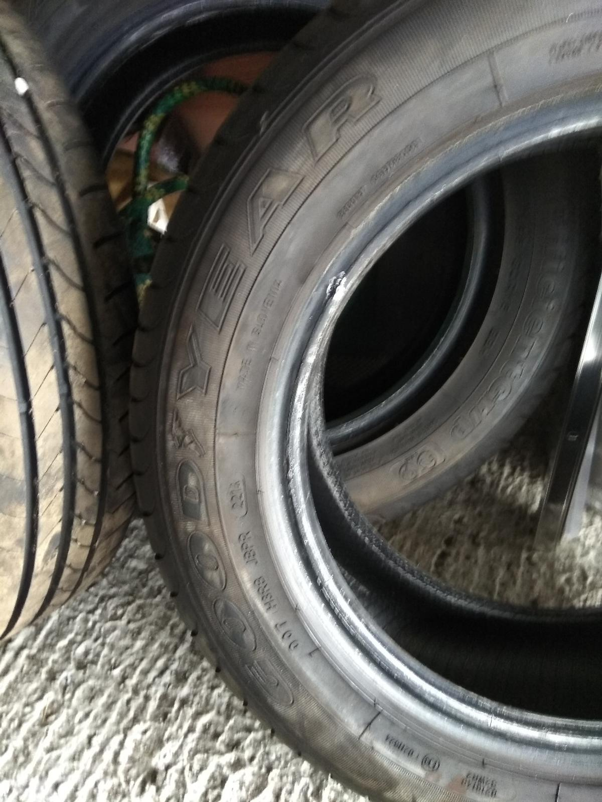 Goodyear Tyres 4 X Goodyear Tyres 195 60 R15 In Rm15 Purfleet For 40 00 For Sale