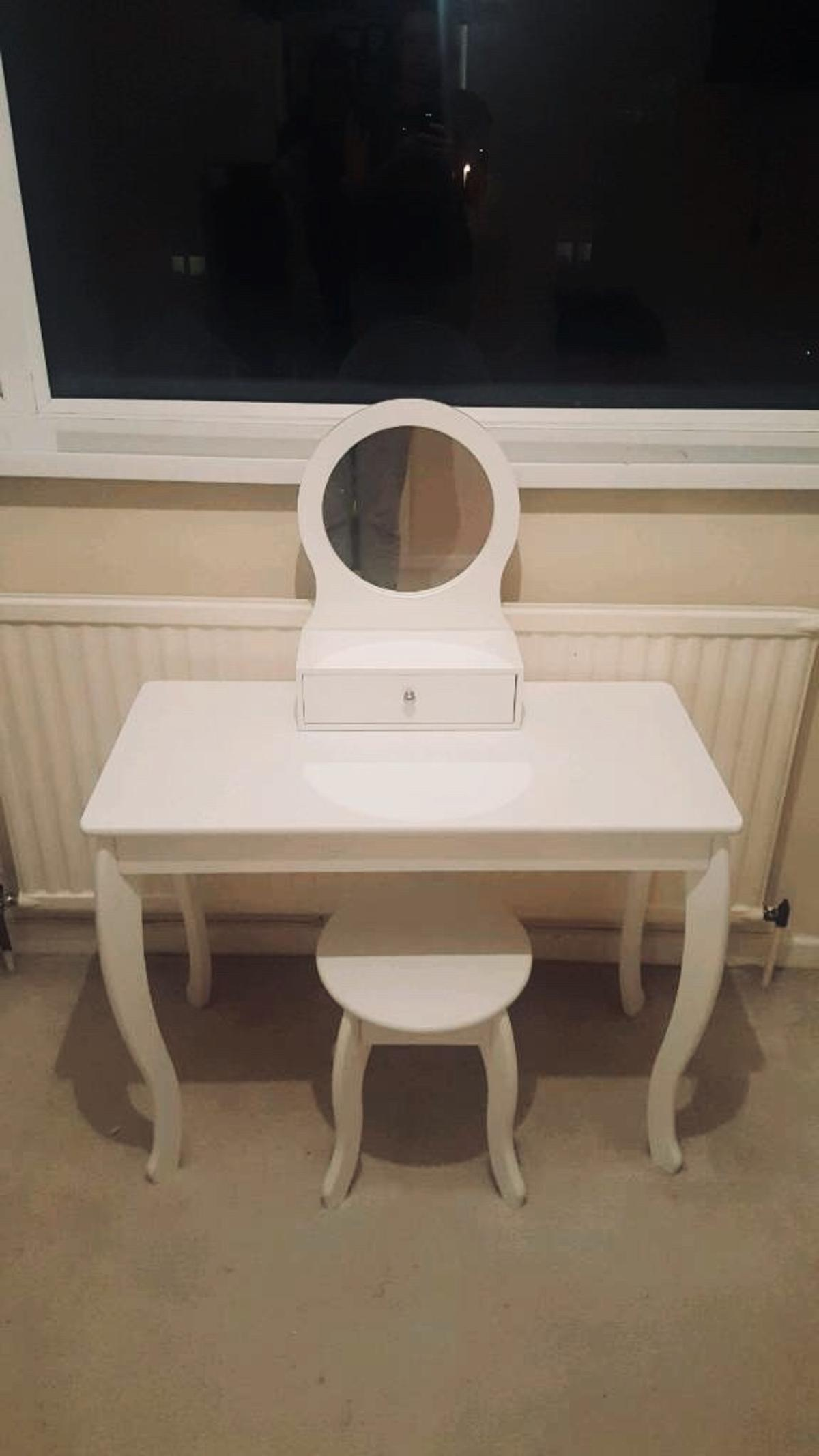 Girls Dressing Table Mia Dressing Table Stool