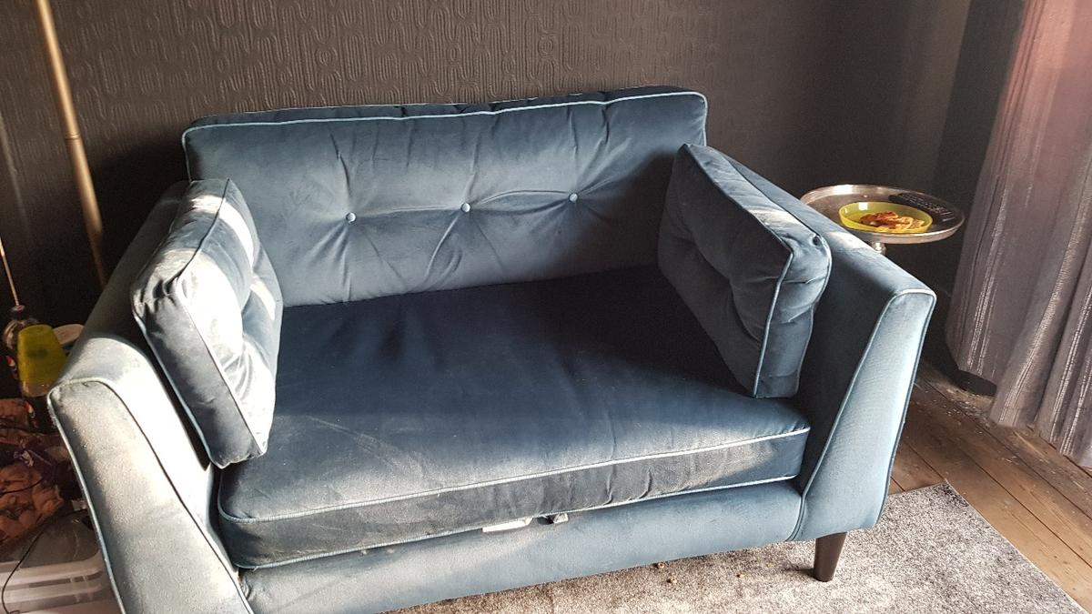Sofology Sale Suede Loveseat Sofology In Burnley For 250 00 For Sale Shpock