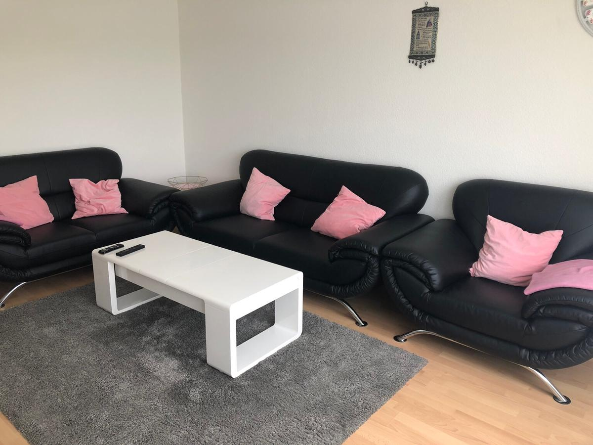 Couchgarnitur 3 Teilig Leder Couch 3 Teilig In 68239 Suebenheim For 200 00 For