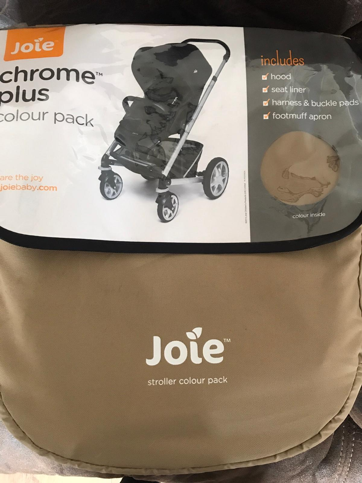 Joie Buggy Chrome Test Joie Chrome Plus Colour Pack