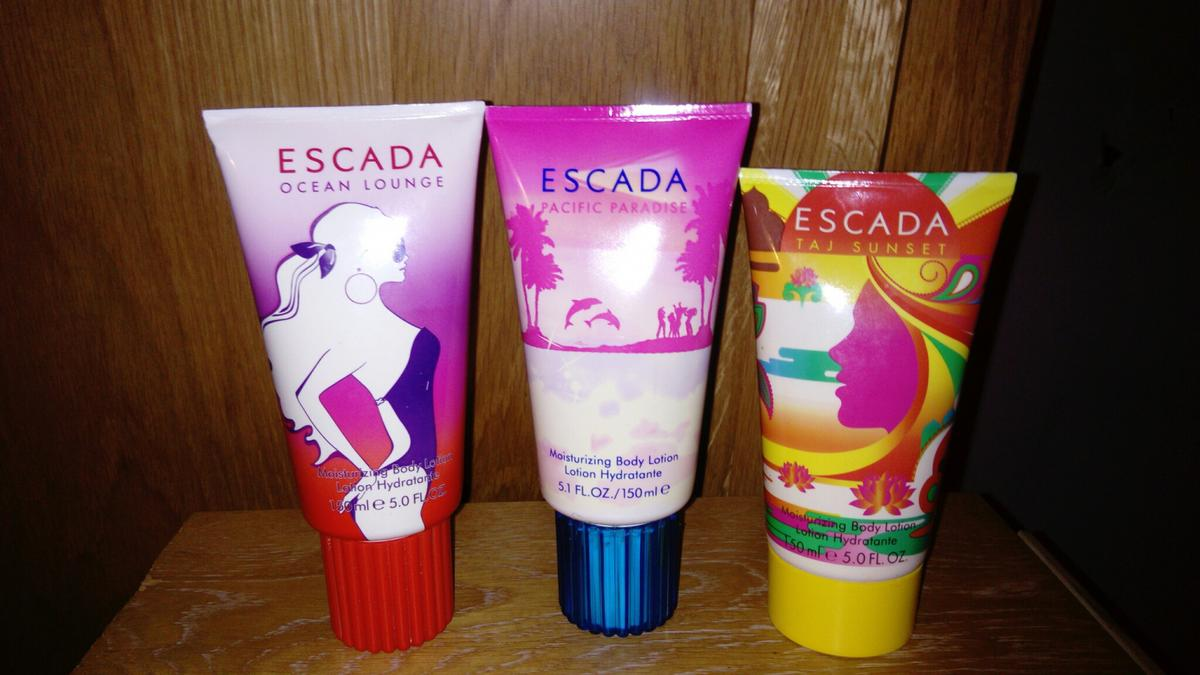 Garten Lounge Flo Escada 3 Pre Loved Body Lotions