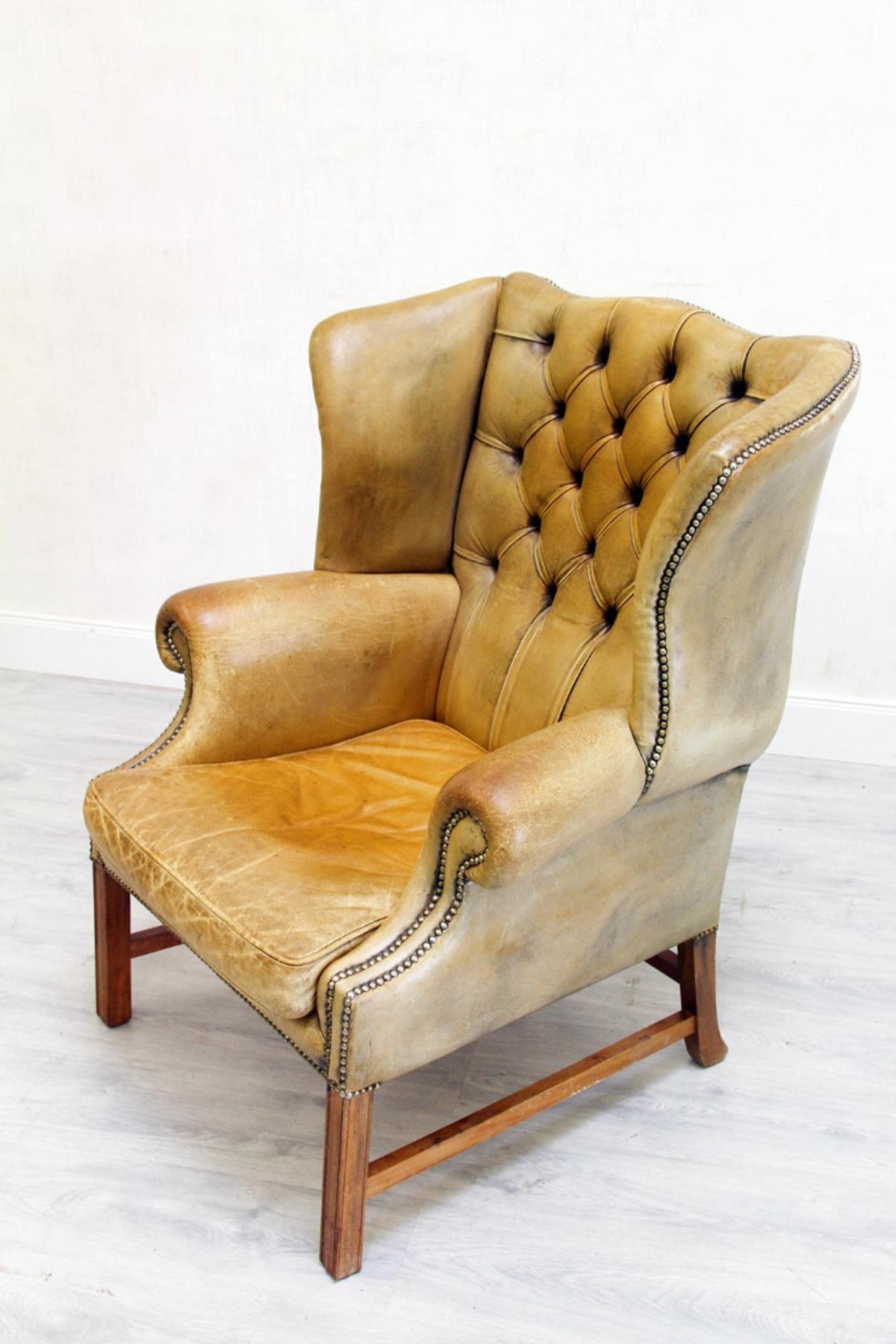 50 Jahre Sessel Chesterfield Fernsehsessel Sessel Ohrensessel In 32791 Lage For