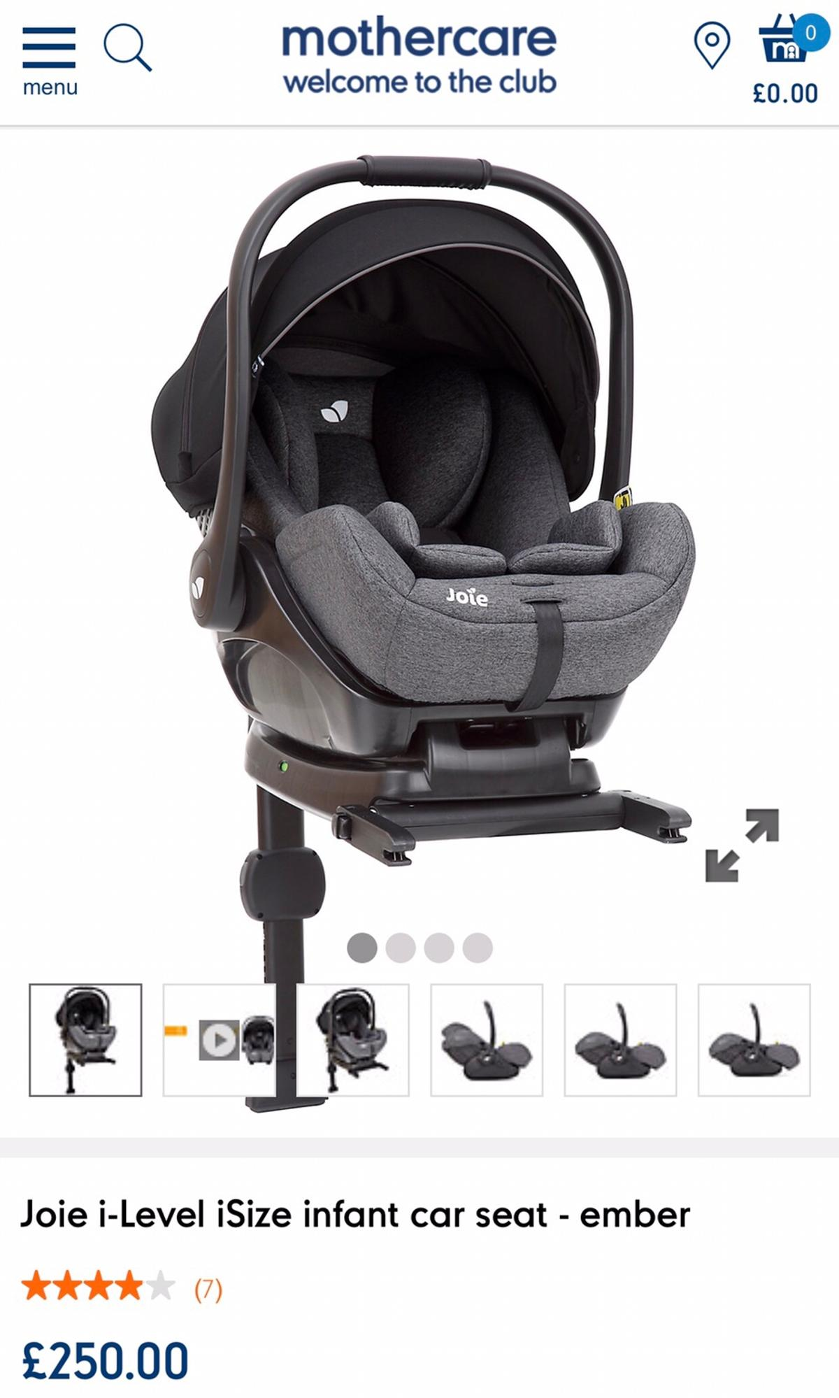 Joie Baby Head Office Joie I Level Isize Infant Car Seat Basket In Cw1 Crewe For