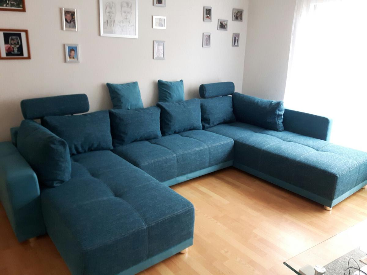 Couch In U Form Farbe Petrol In 67691 Hochspeyer For 150 00 For Sale Shpock