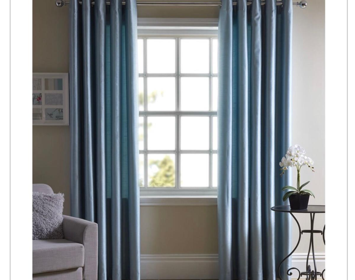 Faux Silk Curtains Faux Silk Curtains