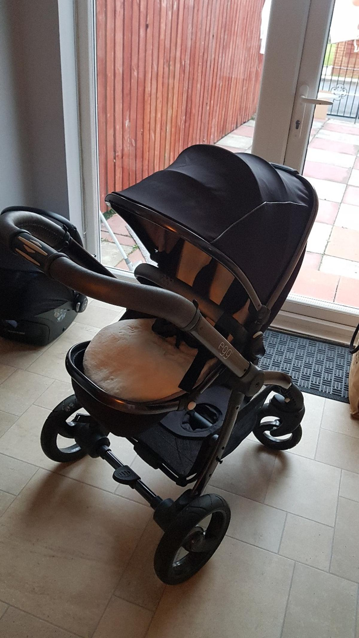 Egg Pram Gunmetal Egg Shadow Black Edition Travel System In Ne32 Tyneside For