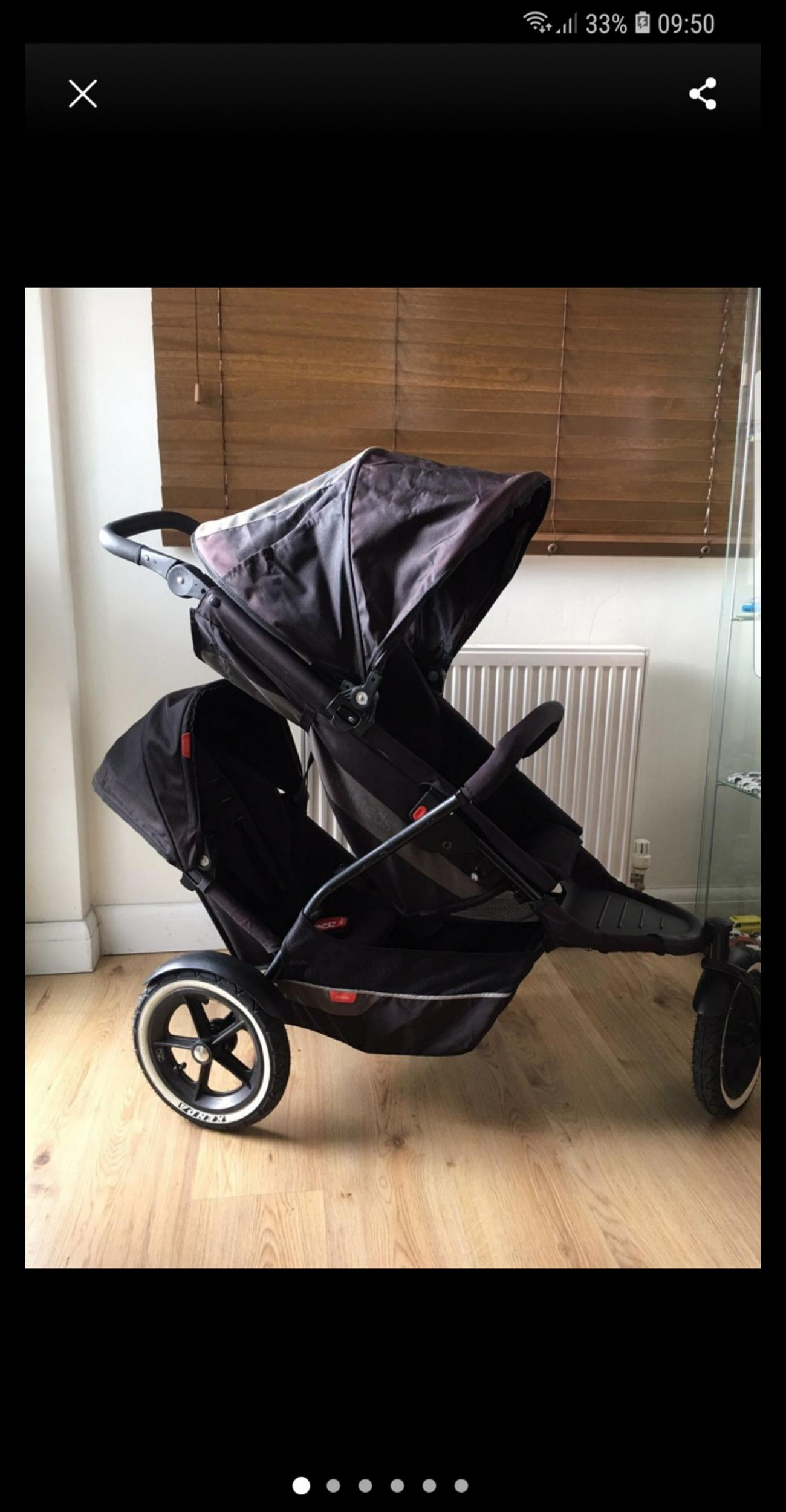Double Buggy In Sale Phil Ted S Explorer Double Buggy In Mole Valley For