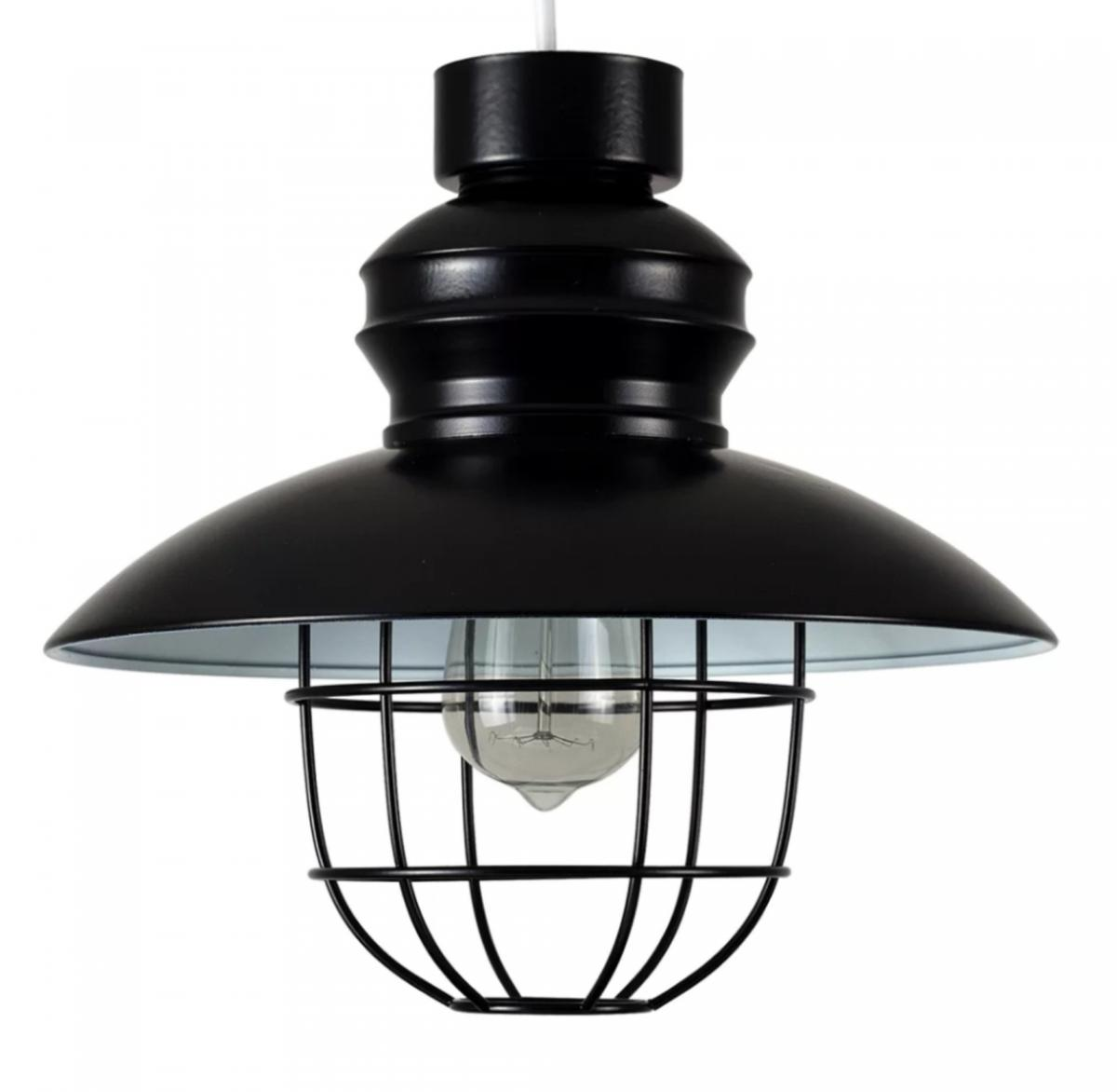 Ceiling Light Shades Set Of Two Black Metal Pendant Light Shades