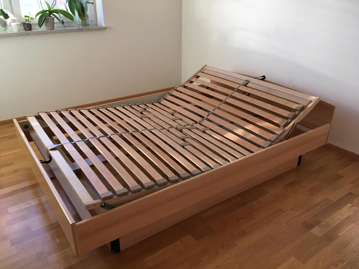 Bettgestell 140x200 Holz Bett 140x200 Inkl. Lattenrost In 8511 Rossegg For €150.00 For Sale | Shpock