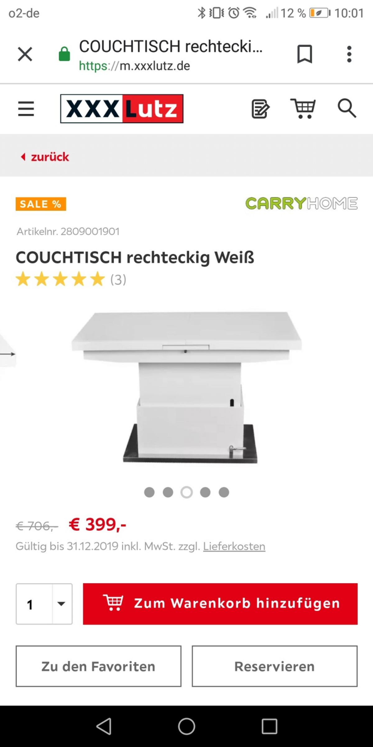Carryhome Couchtisch Carryhome Couchtisch In 75210 Keltern For €150.00 For Sale | Shpock