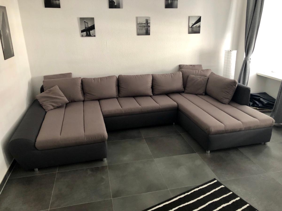Couch U Form Grau Große Couch U-form 320x200 Grau 1 Jahr Alt In 54290 Trier For €430.00 For Sale | Shpock