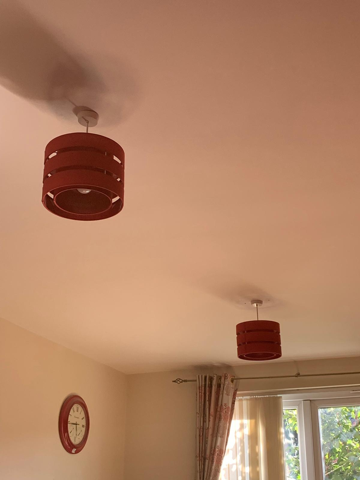 Ceiling Light Shades Beautiful Red Ceiling Light Shade