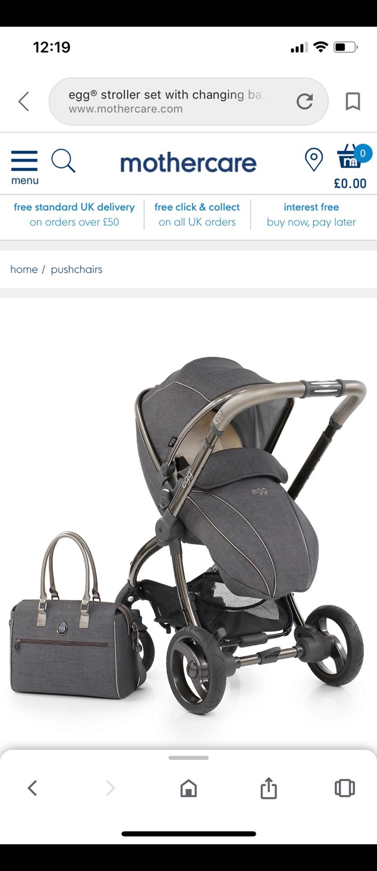 Oyster Double Pram Mothercare Egg Tandem In L24 Liverpool For 530 00 For Sale Shpock