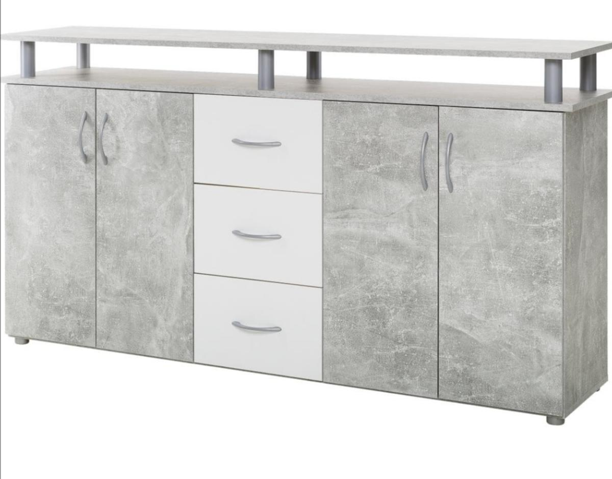 Sideboard Betonoptik 2 Sideboards In Betonoptik In 47178 Duisburg For €50.00 For Sale | Shpock