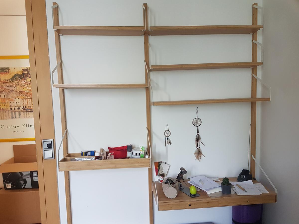 Wandregal Aus Holz Von Ikea In 82110 Germering For 75 00 For Sale Shpock