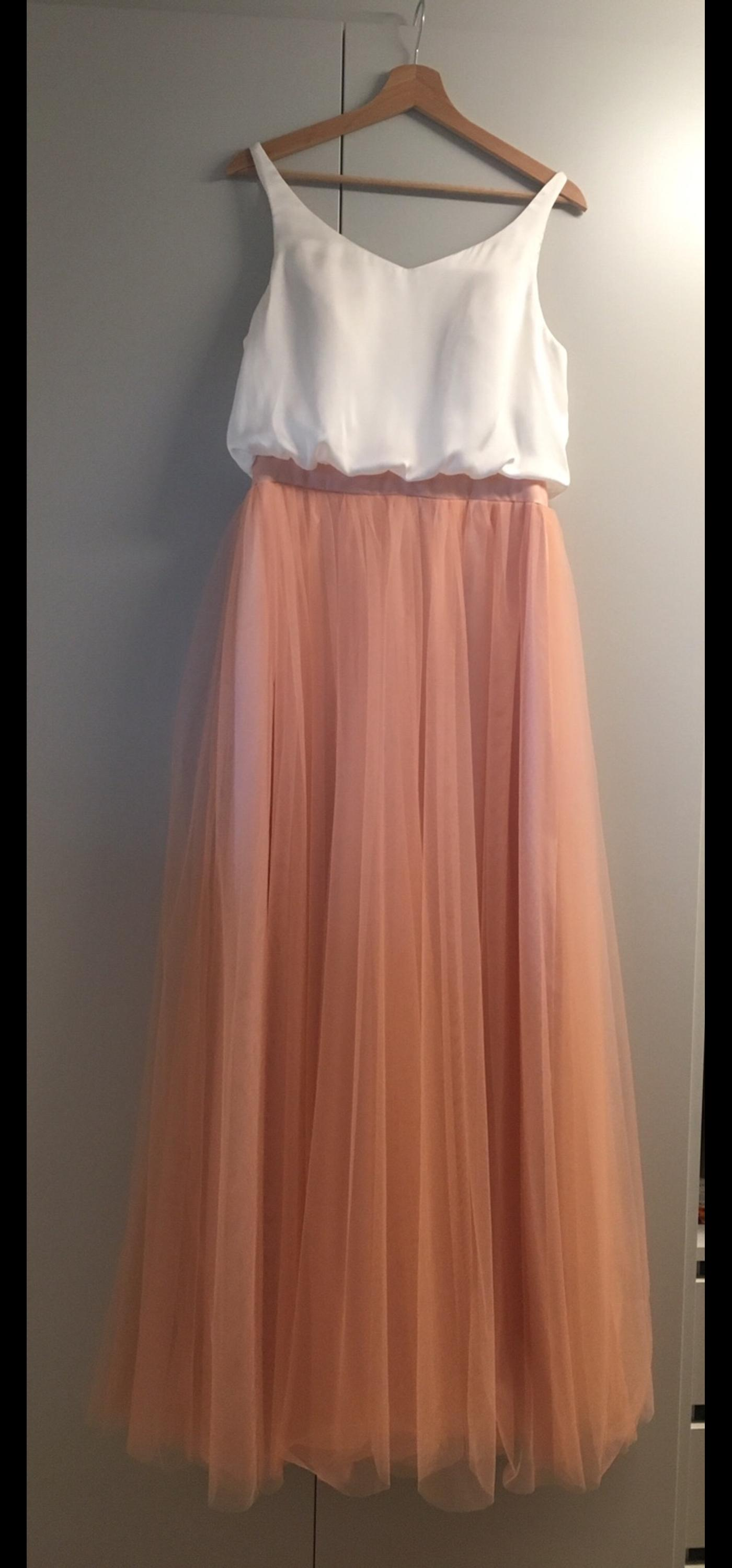 Apricot Farbe Brautjungfern-/abendkleid In 8042 Raaba-grambach For €85.00 For Sale | Shpock