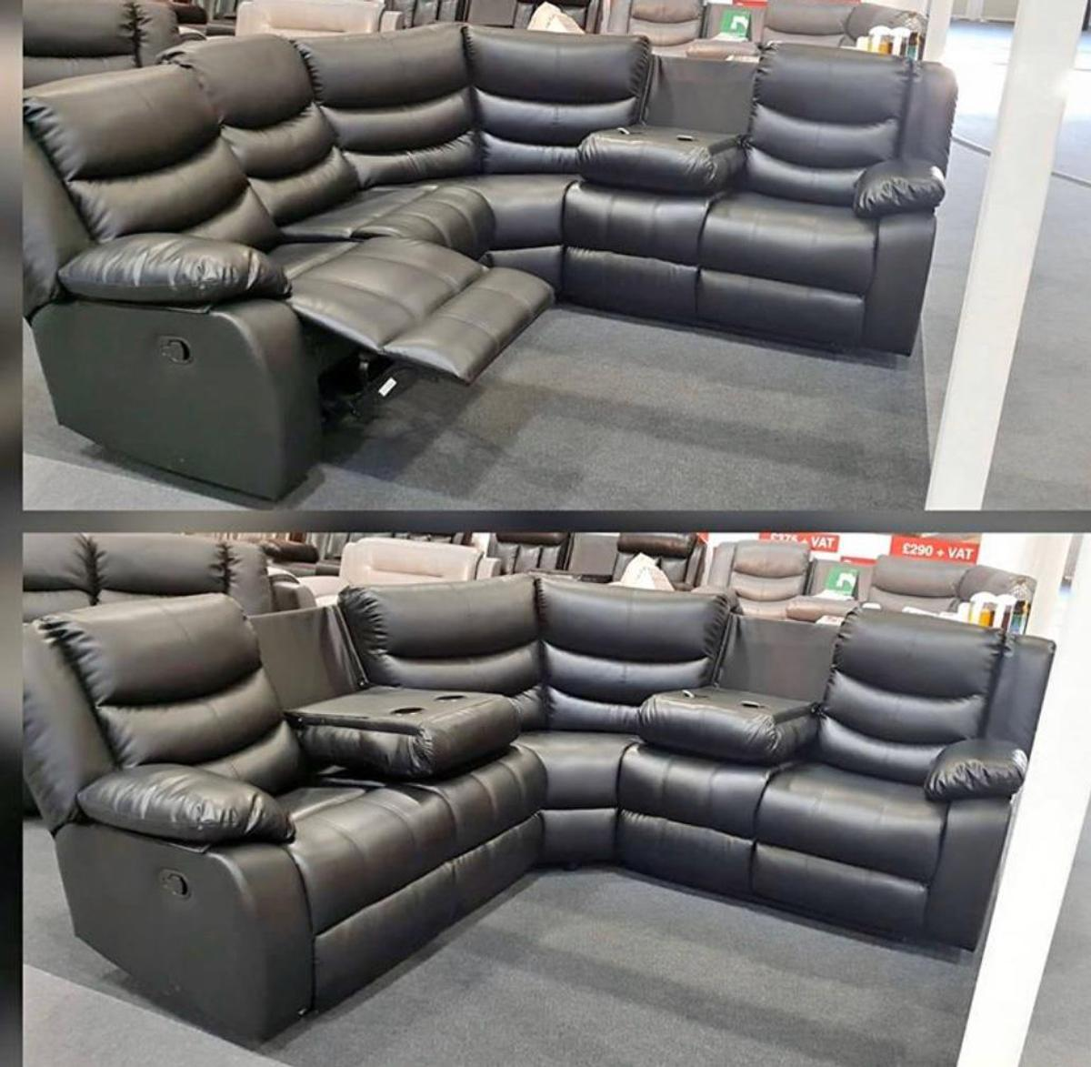 Roma 3 2 Seater Sofa Recliner Bonded Leather In Bd1 Bradford For 550 00 For Sale Shpock