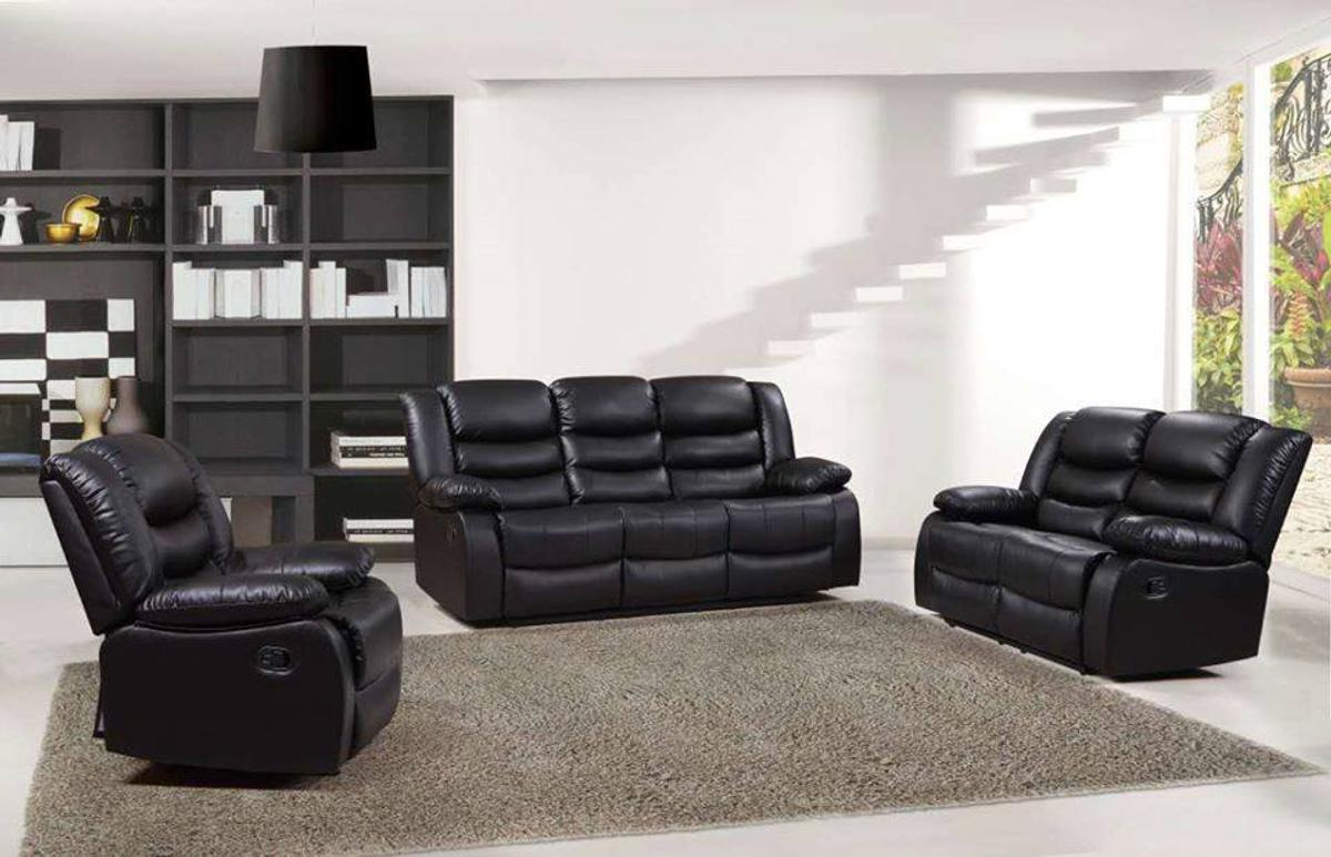 BRAND NEW LEATHER RECLINER SOFA SET 3+2+1 in E17 Forest for £749.00 for sale | Shpock