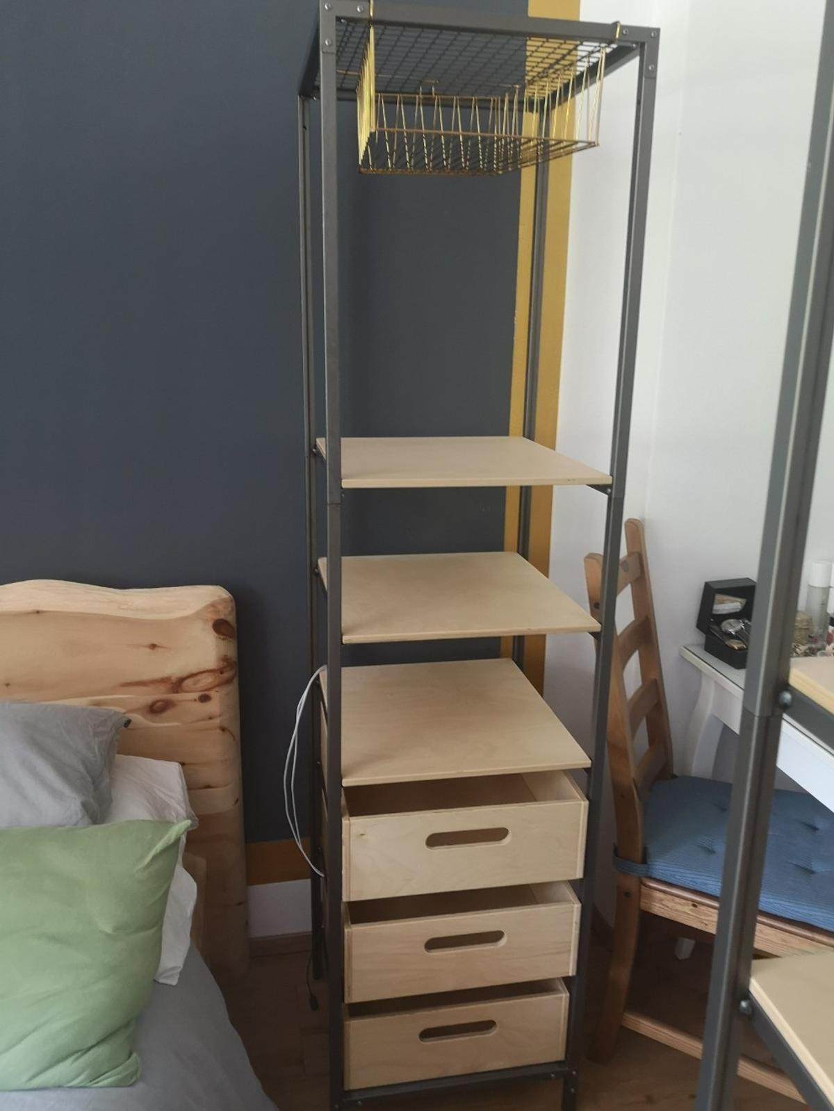 Metallregal Mit Holz Ikea Regal In 6323 Gemeinde Bad Häring For 80 00 For Sale Shpock