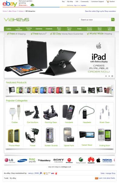 Professional eCommerce Design \u2013 Magento \u2013 Shopify \u2013 Channel Advisor - ebay store templates