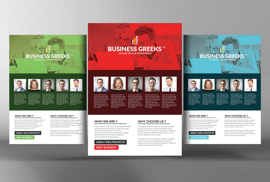 Get 85 Premium Business Flyers - new business flyers
