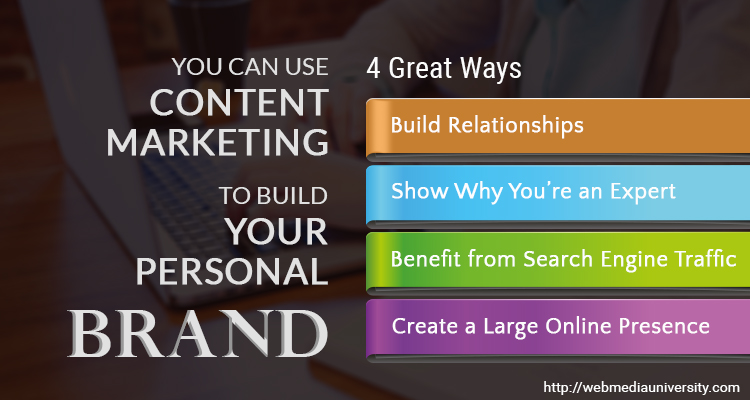 4 Great Ways You Can Use Content Marketing to Build Your Personal Brand