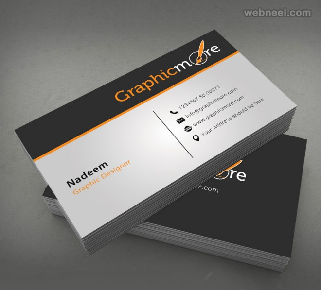50 Creative Corporate Business Card Design examples - Design - name card example