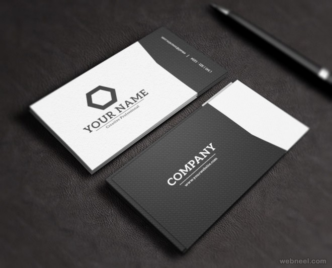 corporate business card design 21 - name card