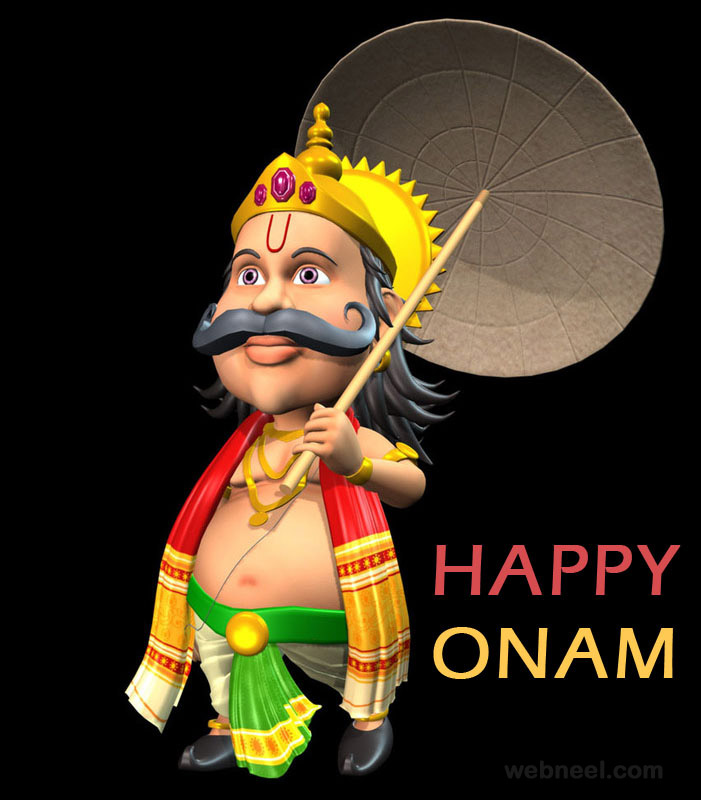 Happy Diwali 3d Wallpaper 25 Beautiful Onam Greeting Card Designs And Onam Wishes