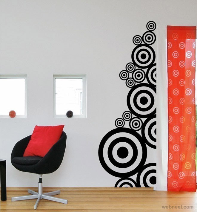 30 Beautiful Wall Art Ideas and DIY Wall Paintings for your - designs for walls