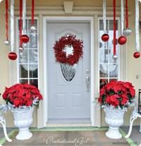 christmas door decorations 6 - Full Image