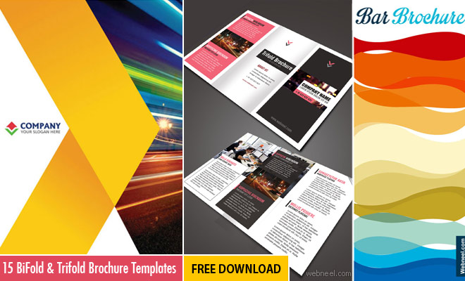 15 Free Corporate BiFold and Trifold Brochure Templates - Free - free design flyer templates