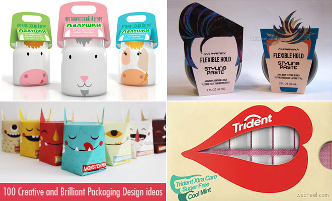 100 Creative and Brilliant Packaging Design ideas from around the world - creative packaging ideas
