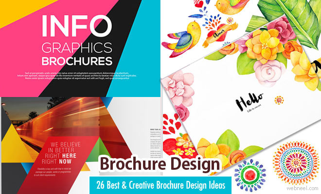 50 Creative Corporate Brochure Design ideas for your Inspiration - free pamphlet design