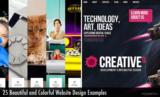 25 Beautiful and Colorful Website Design examples for your inspiration - Resume Websites Examples