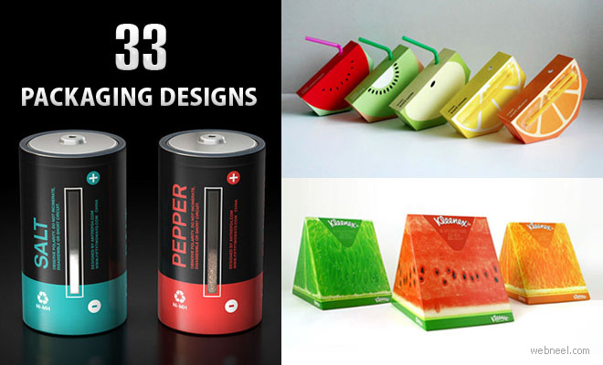 50 Brilliant and Creative Packaging Design examples for your inspiration - creative packaging ideas