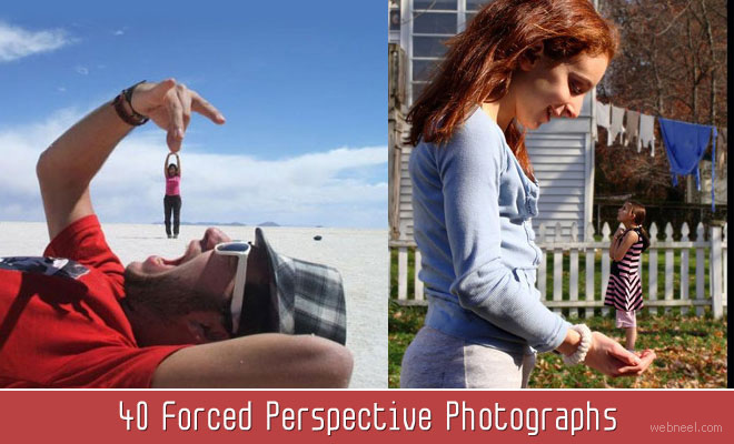50 Forced Perspective Photography examples around the world